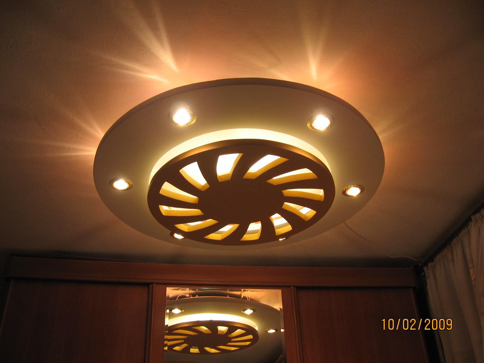 Установка точечных светильников в гипсокартон своими руками 9